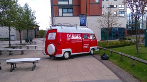 Pimm's o'clock on campus!